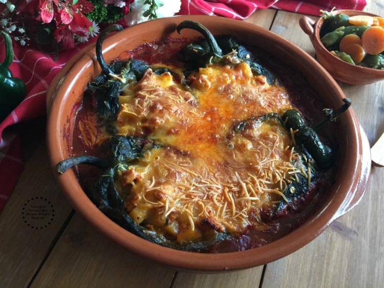 Spicy Turkey Picadillo Chiles Rellenos to delight your tastebuds