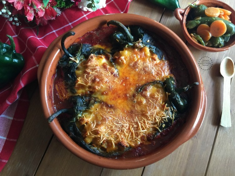 The only way to cook this Spicy Turkey Picadillo Chiles Rellenos is by using authentic ingredients