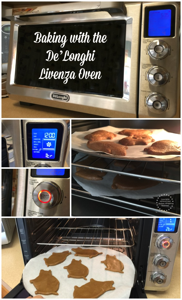 Baking with the DeLonghi Livenza Oven