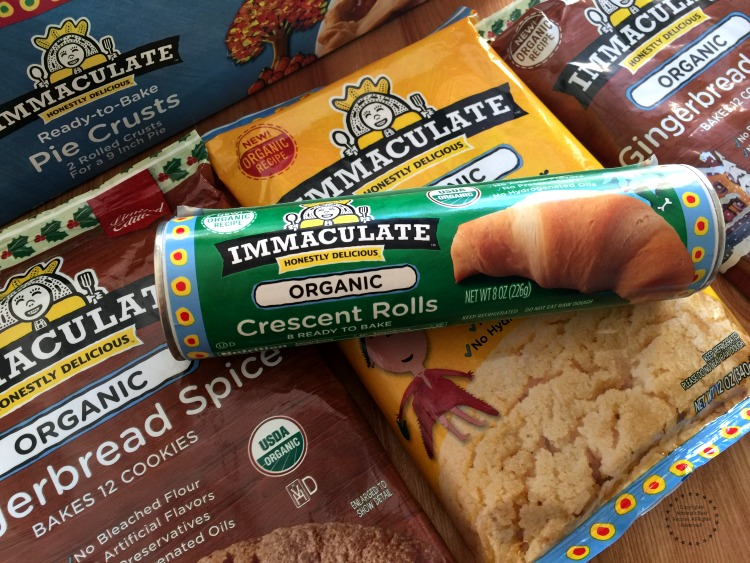 Algunos de los productos de Immaculate Baking Company que compré en Whole Foods