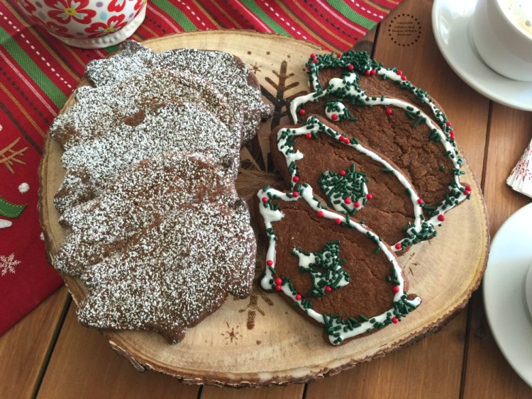 Mexican Piloncillo Ginger Cookies for Christmas