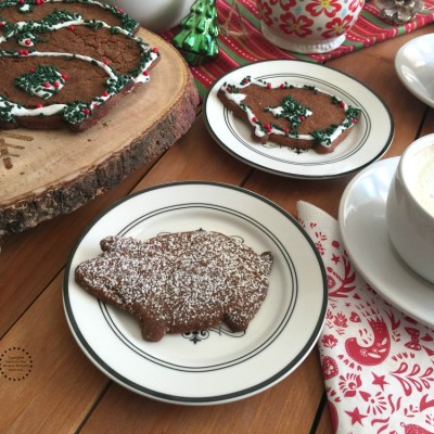 Mexican Piloncillo Ginger Cookies