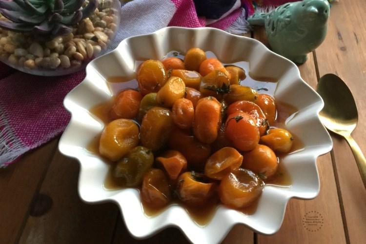 Honeycomb Kumquat Confit Recipe