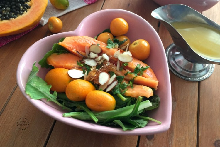 Kumquat Papaya Gooseberry Salad