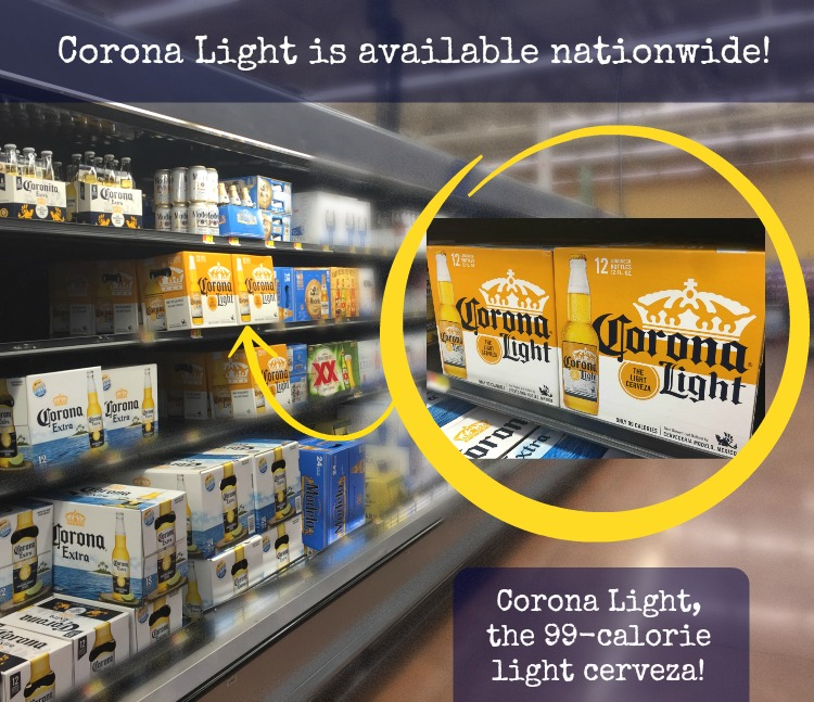 Corona Light is available nationwide