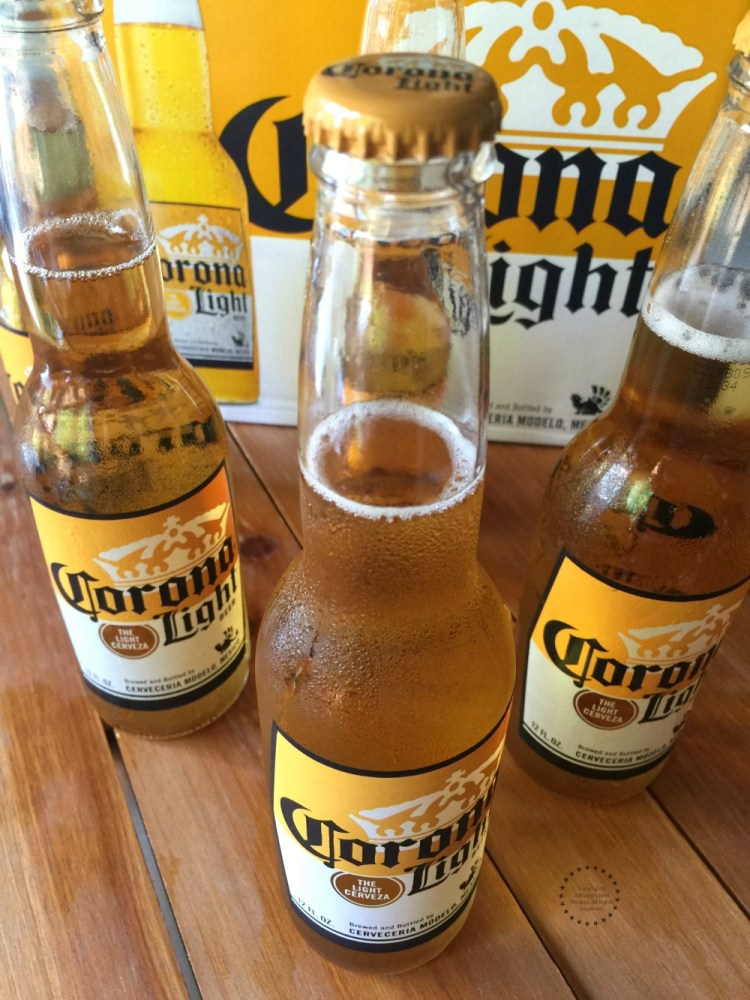 Enjoy Corona Light ice cold