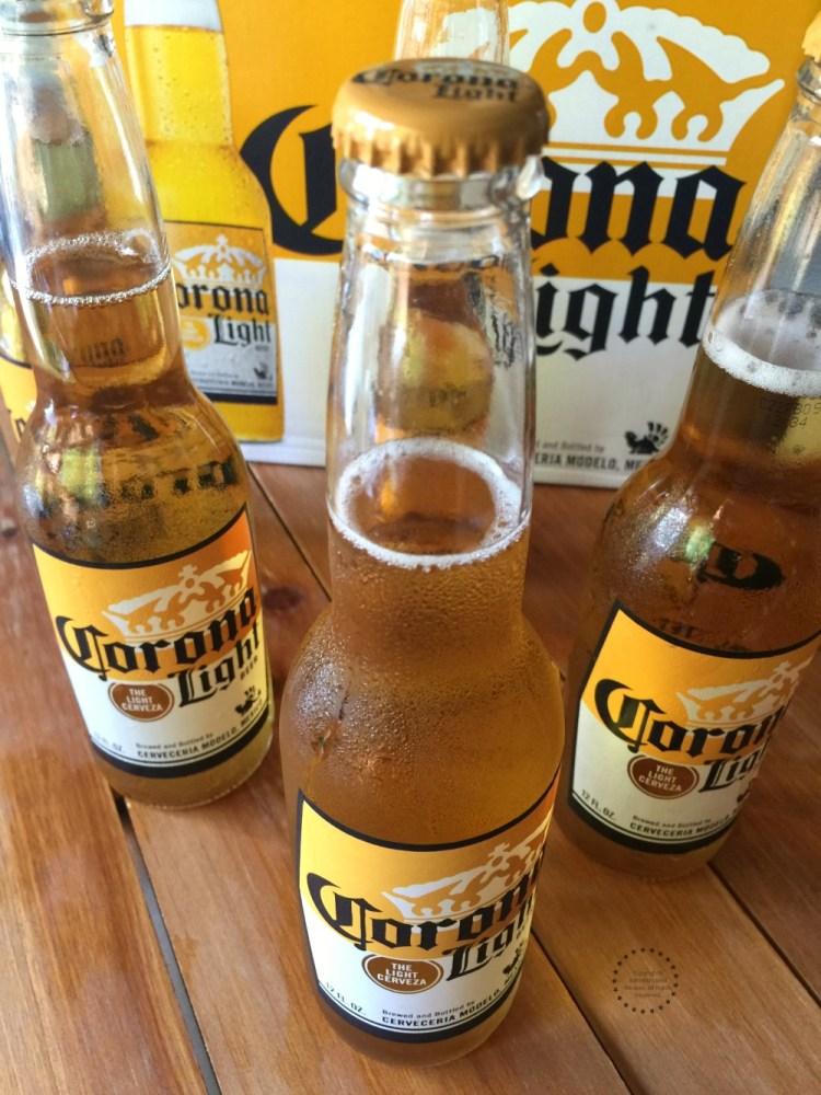 Enjoy Corona Light ice cold
