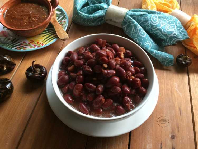 Incredibly flavorful Red Cranberry Beans