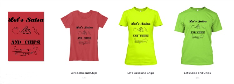 Colección Let's Salsa and Chips
