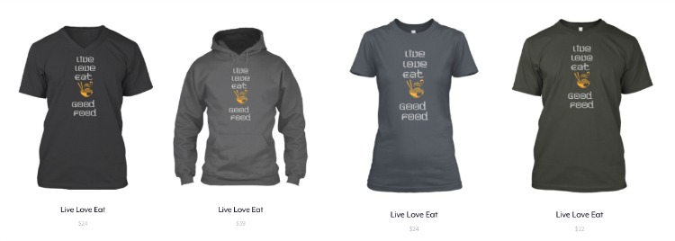 Live Love Eat Collection