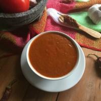 Salsa de Chile Chipotle para Tacos Arabes