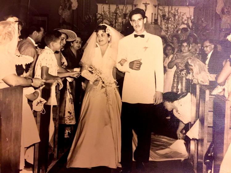 My dear in laws in their wedding