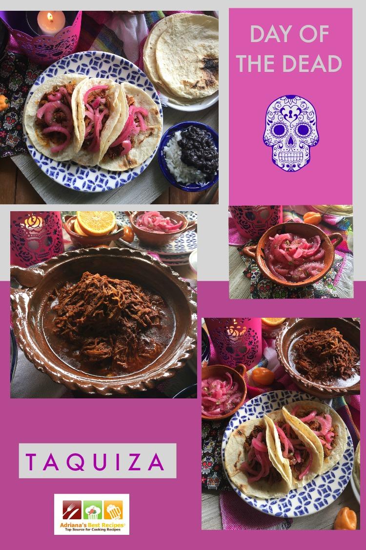 Yucatan Pork Loin Pibil Feast for a Day of the Dead Taquiza