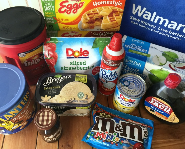 Find all the ingredients for your own Waffle Bar at Walmart