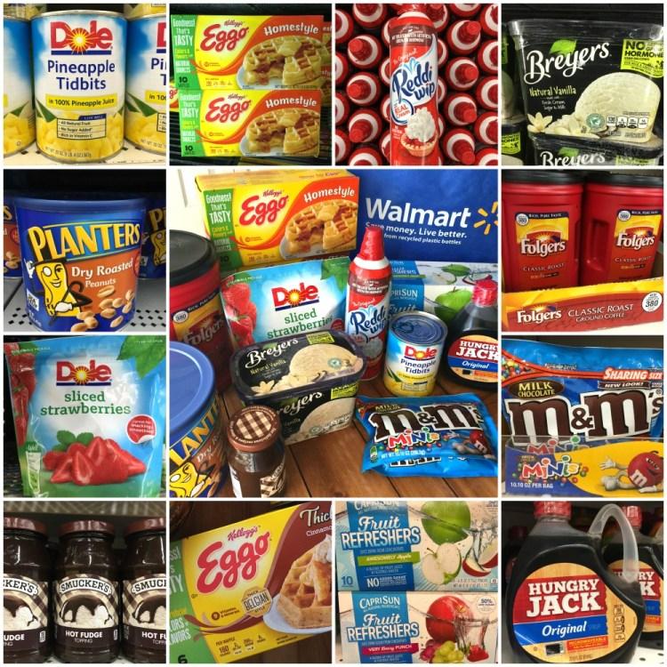 De compras en Walmart