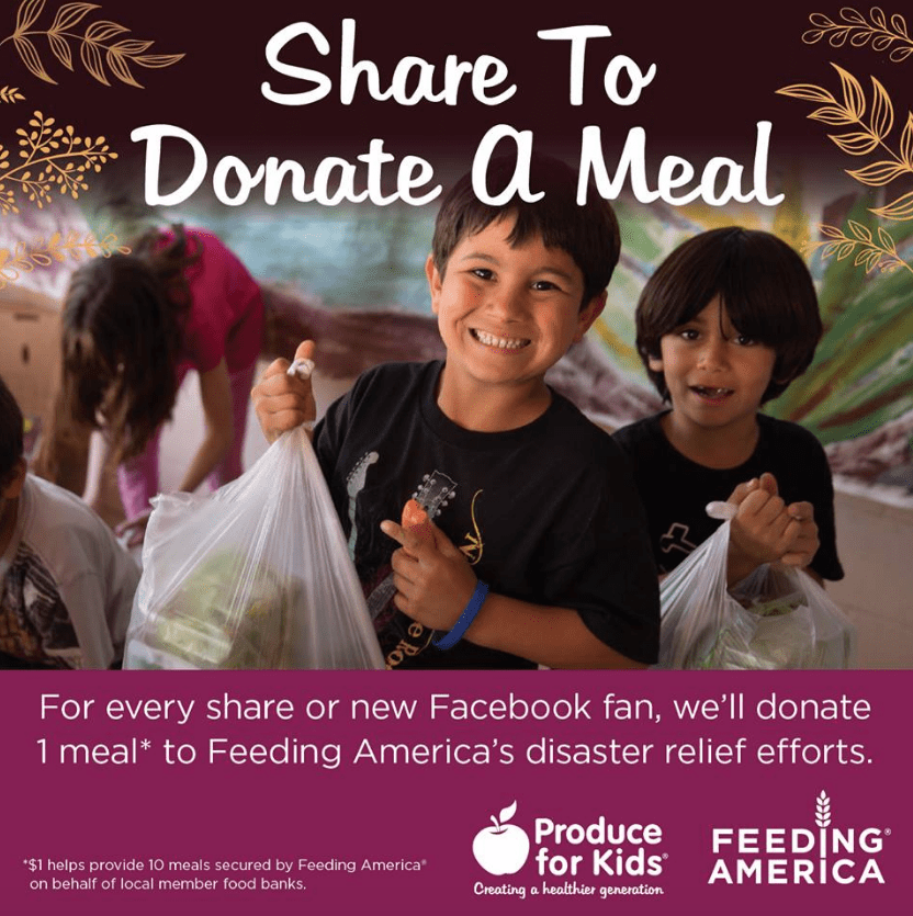 Share to Donate a Meal