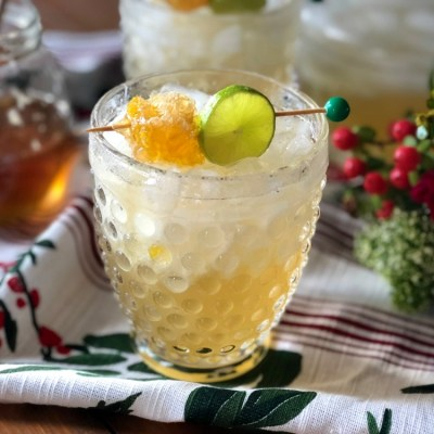 Honeycomb Margarita Holiday Cocktail