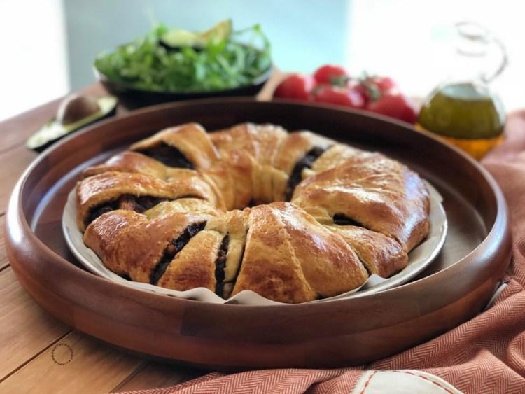 Rosca de Mole de Higos para Reyes