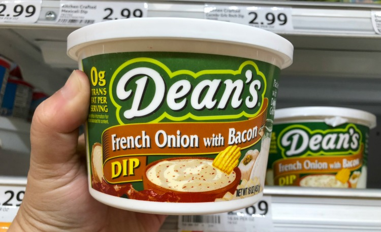 I purchased Dean's French Onion with Bacon Dip at Walmart