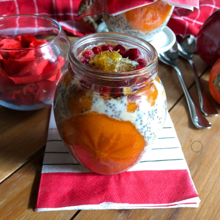 Overnight Chia and Oats Make a Good Valentines Treat