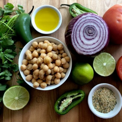 Fresh Chickpeas Salsa for Everything!