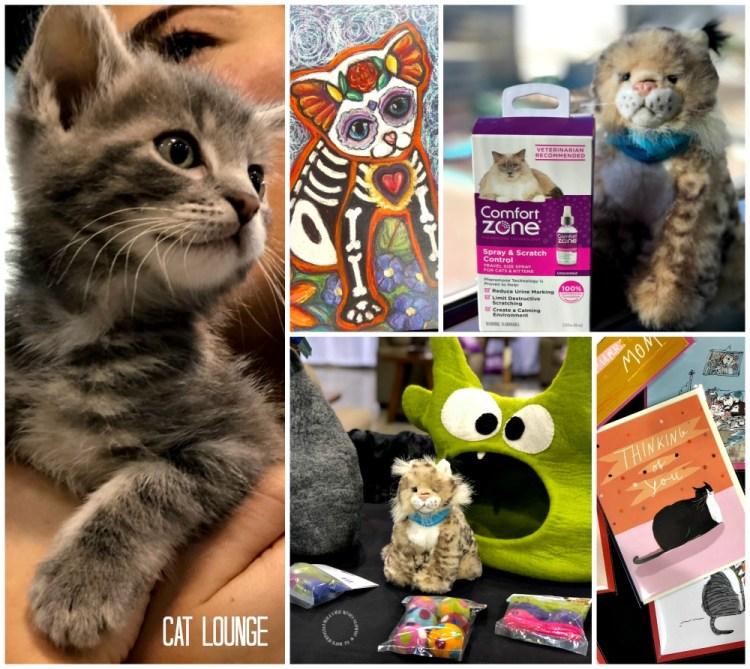 Cat Lounge en BlogPaws