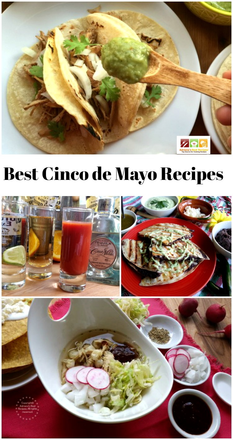 Since I have been living here in the US I have decided to embrace the party and share with you my best Cinco de Mayo recipes for you to get inspired and celebrate at home with the authentic flavors of Mexico.