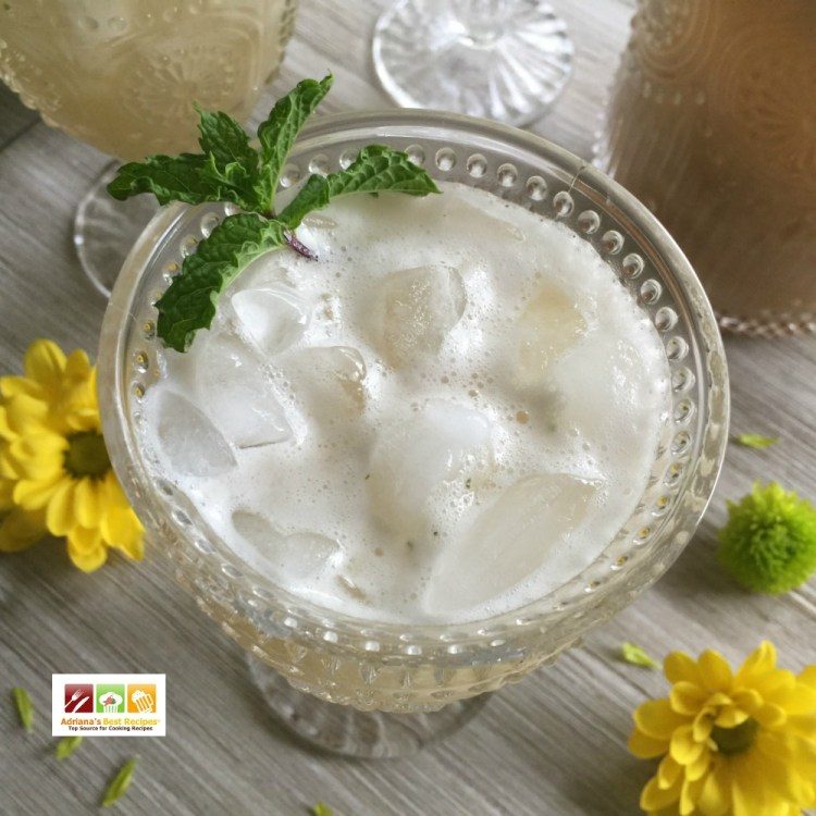 Enjoy Refreshing Banana Agua Fresca