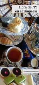 Hora del té en el Fairmont Empress