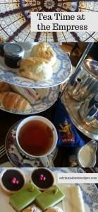 Tea Time at the Fairmont Empress