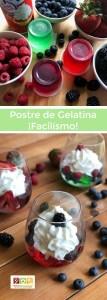 Este es el postre de gelatina más sencillo que haya existido