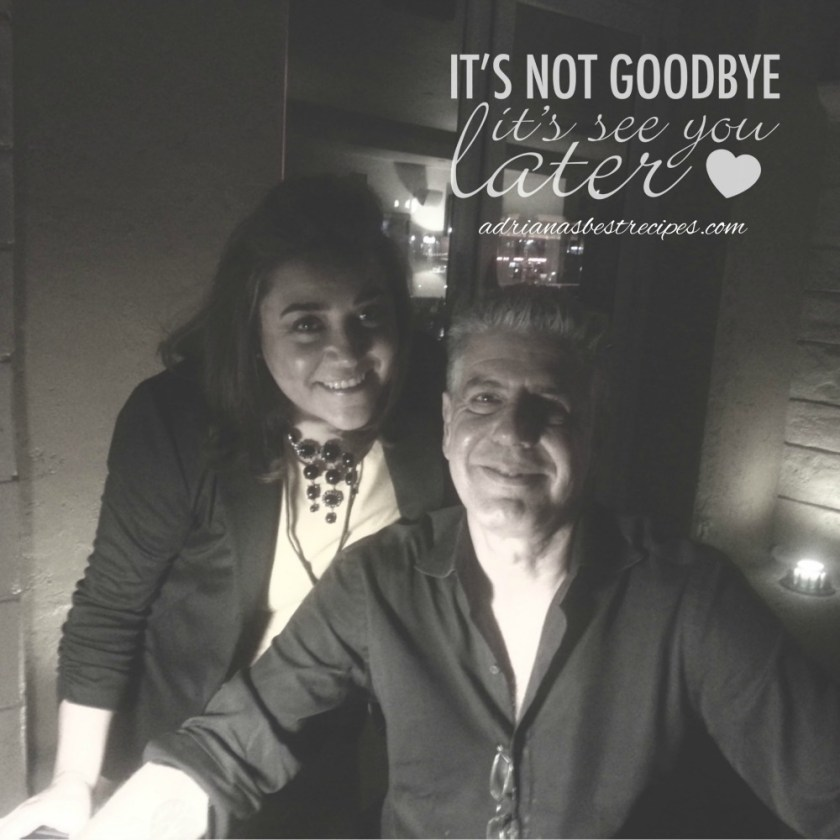 Tony Bourdain, no es un Adiós es un Hasta Siempre