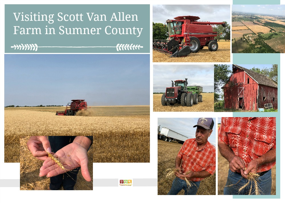 De visita en Scott Van Allen Farms