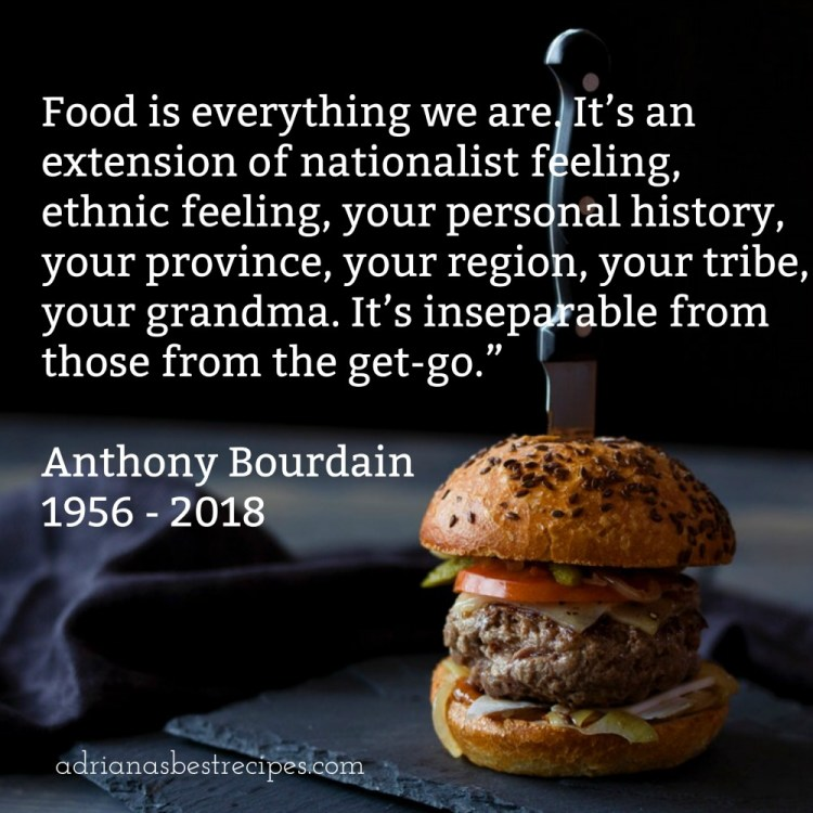 Tony Bourdain Quote