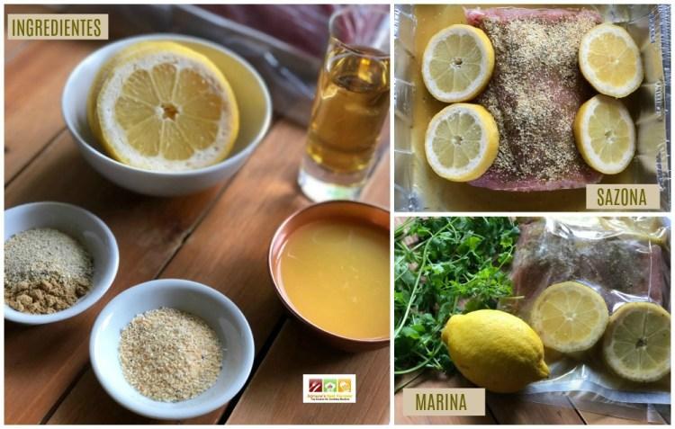 Ingredientes y proceso de preparación del lomo de cerdo con tequila y limón