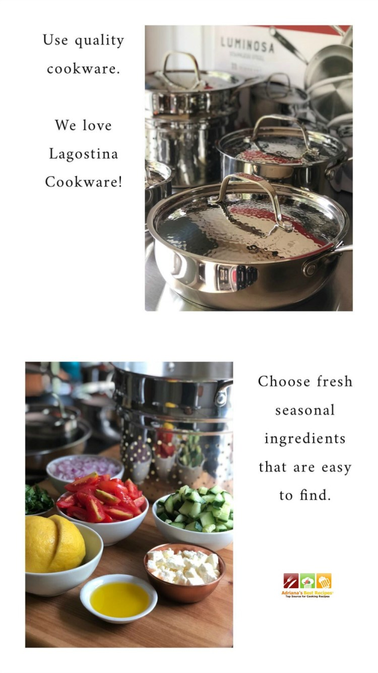 Secrets for easy cooking at home