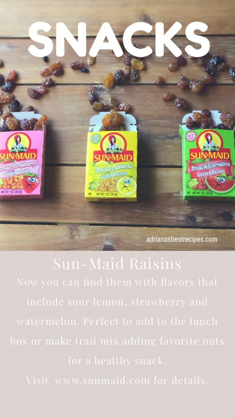 SunMaid raisins