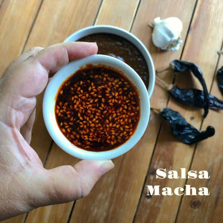 This is salsa macha