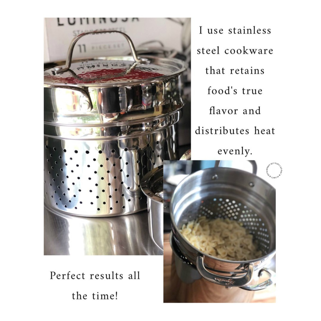 Using quality cookware makes the difference