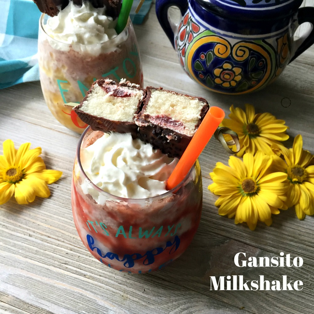 Gansito Milkshake