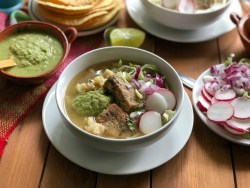 Instant Pot Green Pork Pozole Recipe
