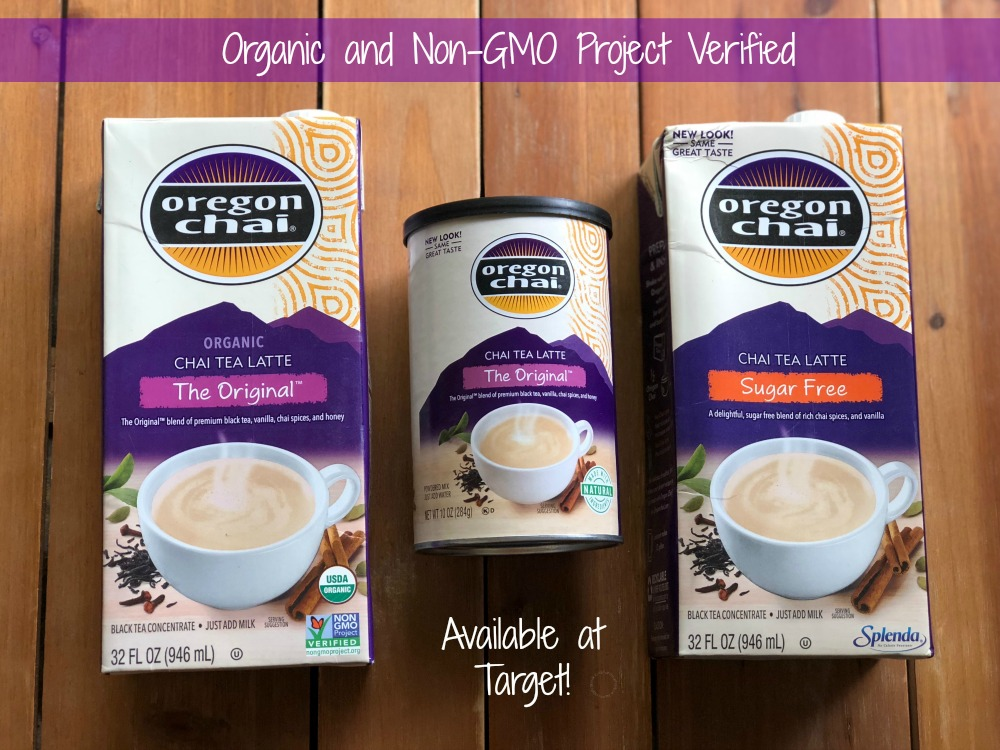 Oregon Chai Tea Latte Concentrate available at Target