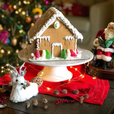 Gingerbread House Family Activity