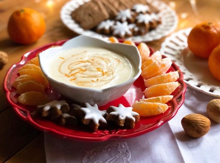 Delicioso Dip de Ricotta y Clementinas