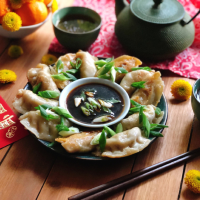 Vegetarian Potstickers for Chinese New Year!