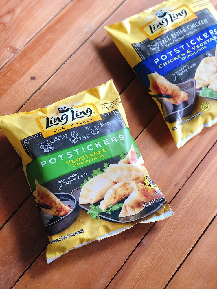 Ling Ling potstickers have authentic flavors and are made with high quality ingredients