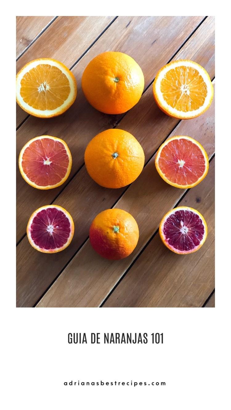 Conoce las variedades de naranjas