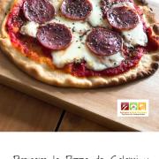 Prepara la Pizza de Salami y Chorizo Español