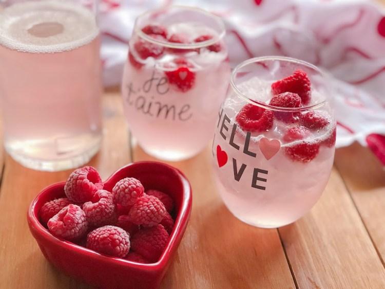 The Italian Pink Lemonade is refreshing