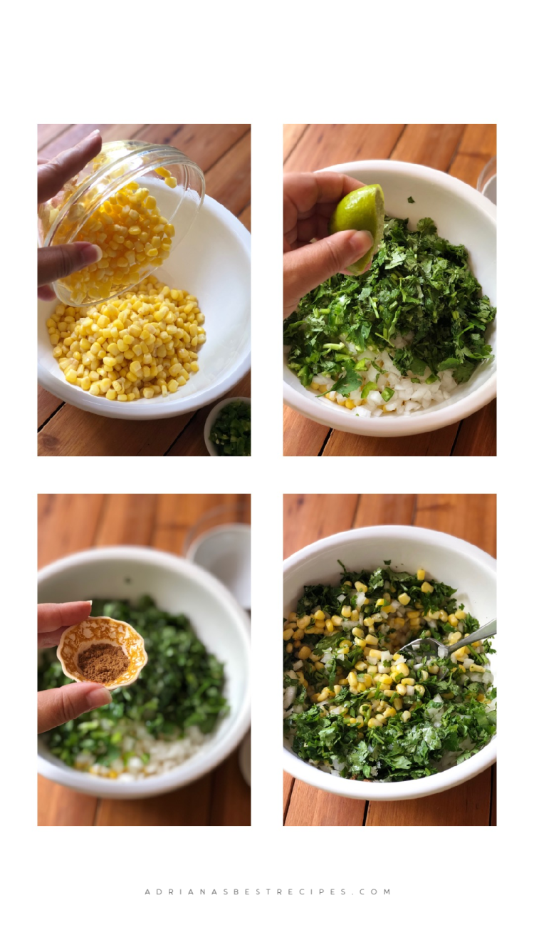 Combine all ingredients in a bowl and serve